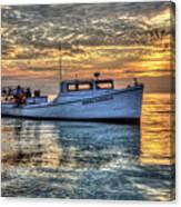 Crabbing Boat Donna Danielle - Smith Island, Maryland Canvas Print