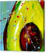 Crazy Avocado Canvas Print