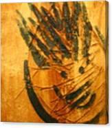 Crazy Pineapple - Tile Canvas Print