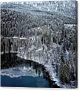 Cresta Lake Canvas Print
