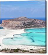 Crete Canvas Print