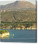 Crete Panoramic Canvas Print