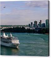 Cruise Ship 5 Canvas Print