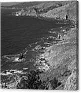 Cruisin The Coast Canvas Print