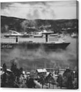 Cruising Into Port Canvas Print