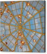 Crystal Web Canvas Print