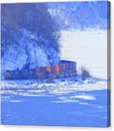 Csx Train Canvas Print