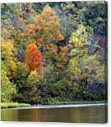 Current River Fall Canvas Print
