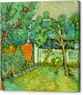 Curtea De La Tara Canvas Print