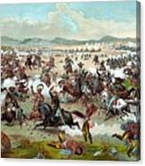 Custer's Last Stand Canvas Print