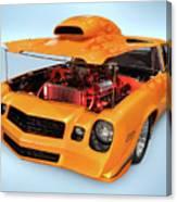 Custom Muscle Car Canvas Print