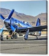 Czech Mate Engine Start Sunday Afternoon Gold Unlimited Reno Air Races Canvas Print