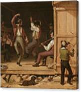 Dance Of The Haymakers Canvas Print