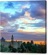 David Tower At Sunset  Canvas Print