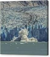 Dawes Glacier Calving #1 Canvas Print
