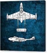 de Havilland Venom Canvas Print