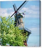 De Zwaan Windmill Canvas Print