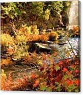 Dead River Falls  Marquette Michigan Canvas Print