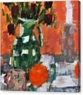 Dead Roses Canvas Print