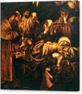 Death Of The Virgin Canvas Print