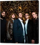 Deer Tick Portrait By Anna Webber Canvas Print