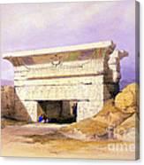 Dendera Temple Complex, 1938 Canvas Print