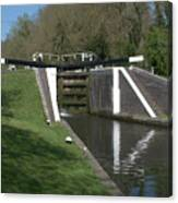 Denham Deep Lock Canvas Print