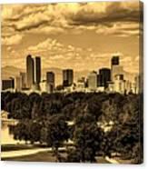 Denver Colorado Canvas Print