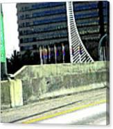 Denver Mile Marker Canvas Print