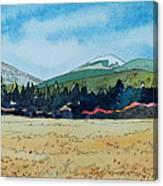 Deschutes River View Canvas Print