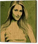 Dianna Agron Canvas Print