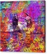 Dog Puppy Pet Animal Cute Canine  Canvas Print