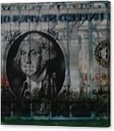 Dollar Bill Canvas Print