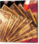 Dollar Canvas Print
