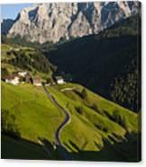 Dolomiti Landscape Canvas Print
