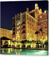 Don Cesar Beach Resort Hotel Canvas Print
