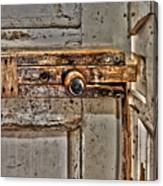 Door Latch Canvas Print
