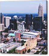 Downtown Charlotte Canvas Print