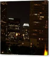 Downtown L.a. In Hdr Canvas Print