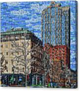 Downtown Raleigh - Fayetteville Street Canvas Print
