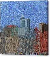 Downtown Raleigh - View From Chavis Park Canvas Print