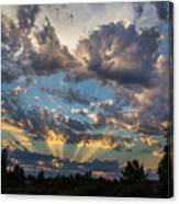 Dramatic Skies Canvas Print