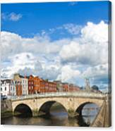 Dublin's Fairytales Around  River Liffey 2 Canvas Print
