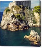 Dubrovnik King's Landing Fortress Canvas Print