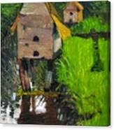 Duck Houses Canvas Print