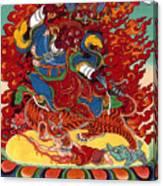 Dudjom's Dorje Drollo Canvas Print
