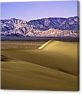 Dunes And Mountains Three Canvas Print