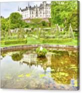 Dunrobin Castle Reflected Canvas Print