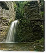 Eagle Cliff Falls Canvas Print