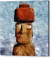 Easter Island Canvas Print
